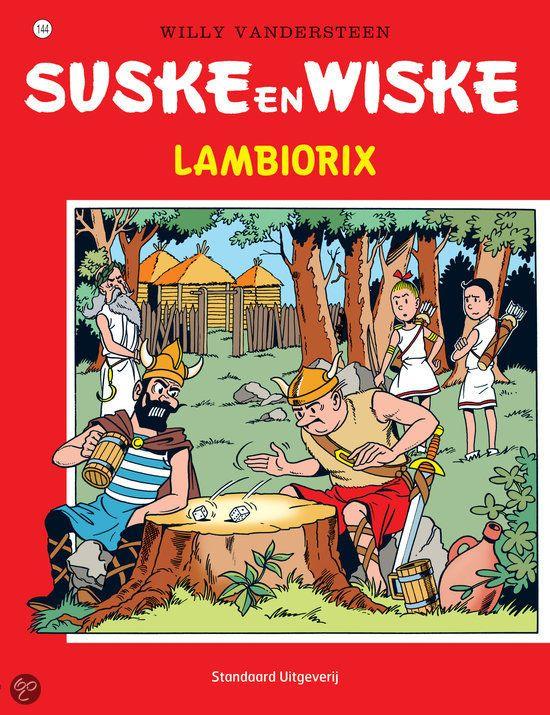 Suske en Wiske: Lambiorix (144). Lambik moet als plaatsvervanger van Lambiorix, het stamhoofd der Oude Belgen, ten strijde trekken tegen de Romeinen en het opnemen tegen rivaal Arrivix. Suske, Wiske, Sidonia en een geheimzinnige scherpschutter helpen hem daar uiteraard bij. Maar kan Lambik de strijd winnen?