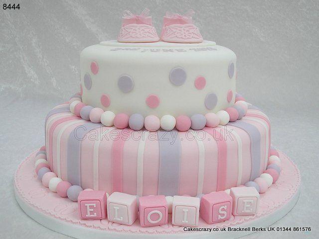 Christening Cake Eloise  http://www.cakescrazy.co.uk/details/girls-christening-cake-8444.html