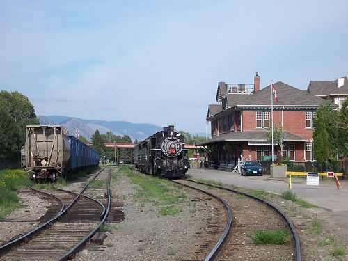 Kamloops Heritage Railway  For info about the area, see http://platinumrealestateteam.com/
