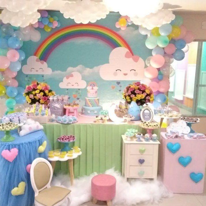 Isabella fez 1 aninho e choveu amor por toda parte. Balões @suzyrybeiro #festachuvadeamor #chuvadeamor #festamenina #encontrandoideias #queroessadecor #festainfantil #festalinda #espalhefestas