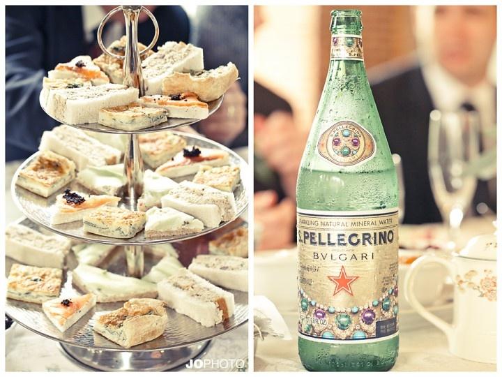 English High Tea wedding sandwiches  http://www.JoPhotoOnline.com/Blog