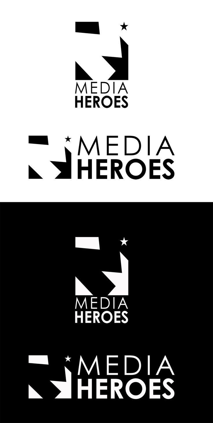 Logo - Media Heroes