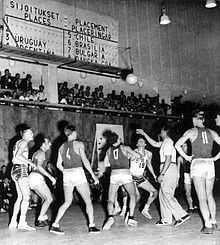 Finale entre les États-Unis et l'Union soviétique - JO d'Helsinki 1952