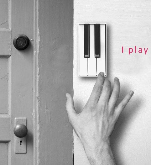 Creative doorbell and other things...