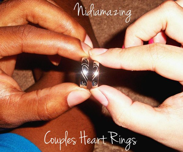Matching Couples Heart Rings, starting at  $10