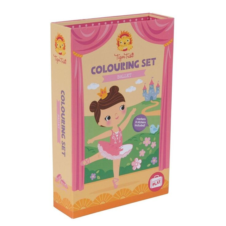 Tiger Tribe - Colouring Set Ballet - M is my little artist (and ballerina), she LOVES to colour and create (and dance)! She is already a BIG fan of Tiger Tribe! -  #EntropyWishList #PintoWin