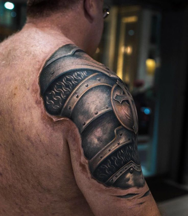 3D Shoulder Armor