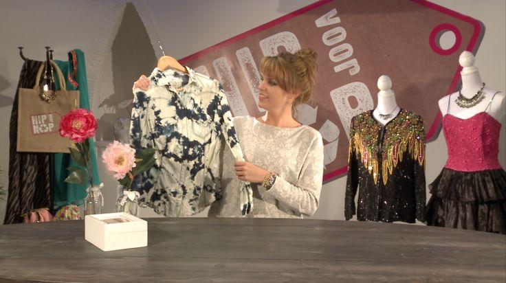 Een gebleekte blouse! Dat is nu helemaal hip. En natuurlijk voor nop. Hoe? http://www.eo.nl/tv/hip-voor-nop/item/artikel/tutorial-kleding-bleken/