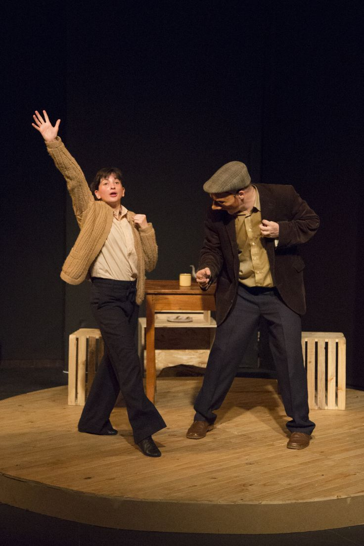 Photograph by Danielle Bischoff: Taryn Bennet & James Cairns in The Snow Goose - Grahamstown 2013