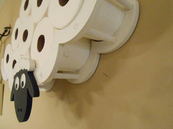 Toilettenpapier Halter Einzigartige Cleveren Schafe Tp