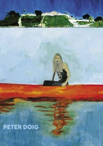 Book cover from the exhibition catalogue to PETER DOIG, 17.4.2015 - 23.8.2015, Louisiana Museum of Modern Art. Artwork: Peter Doig: 100 Years Ago (Carrera), 2001. Oil on canvas. Centre Pompidou Paris. #peterdoig #painting #fluidworld #louisianamuseum #louisianamuseumofmodernart #louisiana