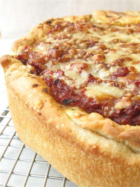 Recipe: Stuffed Pizza