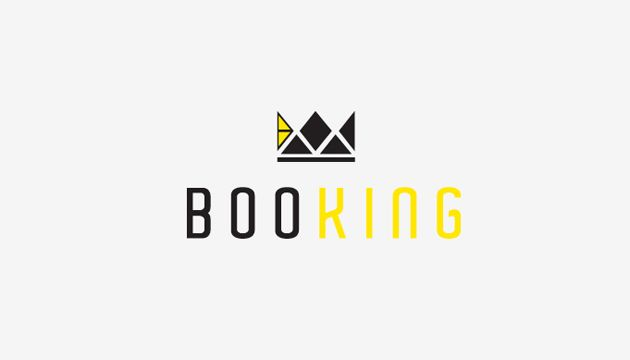 Booking logo | Logo Inspiration