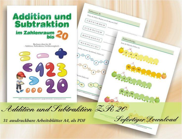 16 best Kostenlose Arbeitsblätter für Mathematik zum Ausdrucken ...