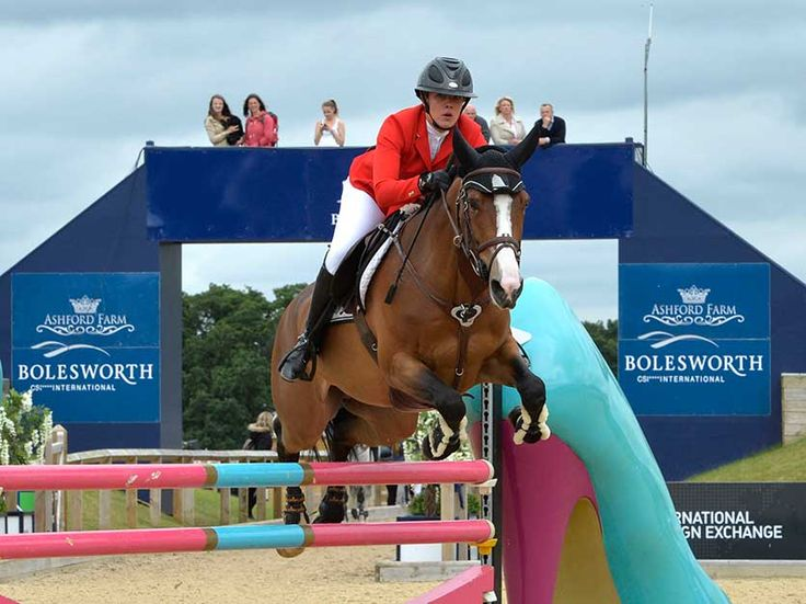 Equi-Ads just posted this... Gudrun fizzes to victory at Bolesworth International