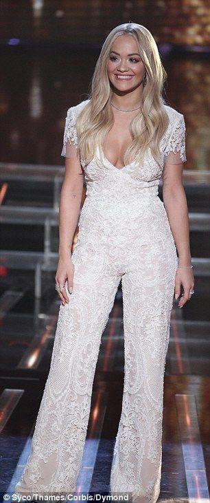 Cheryl Fernandez-Versini and Rita Ora flash their cleavage on X Factor