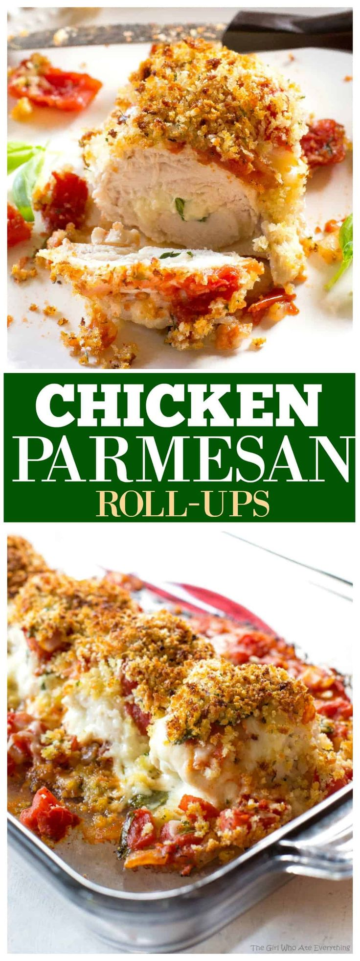 These Chicken Parmesan Roll-Ups Are An Easy Dinner Recipe -5444