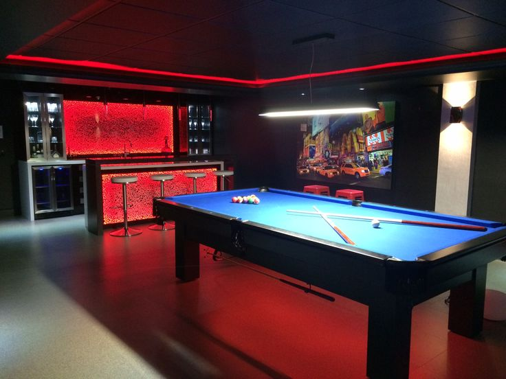 Creation Dun Bar Et Salle De Billard Et Cinema Salle De