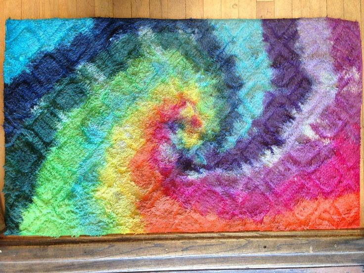 Tie Dye Carpet