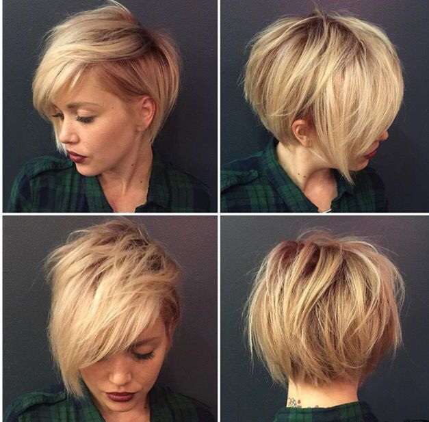 Модные женские стрижки на короткие волосы с
