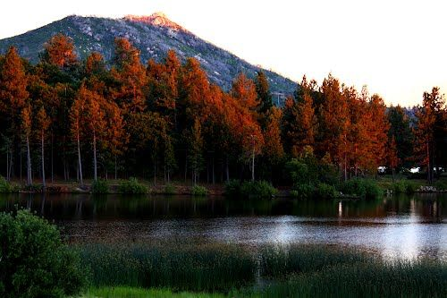 Lake Cuyamaca - just south of Julian California  love it..went canoeing here