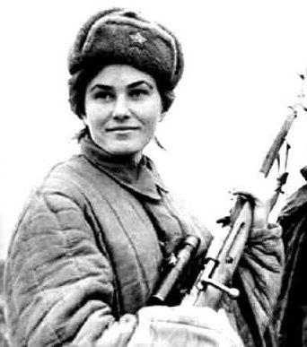 Russian Women Ww2 Dmp-f94 Female Russian Snipers Wwii Russian Women