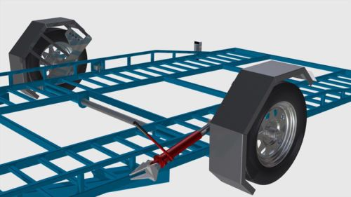 DIY Hydraulic Car Trailer Plans - Start building your own trailer today - CDROM