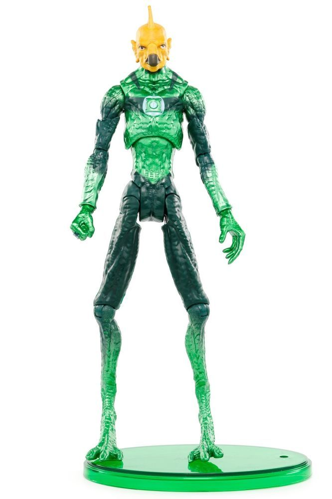 "DC Green Lantern Movie Masters TOMAR-RE w/ Base 6"" Action Figure Mattel 2011 #Mattel"