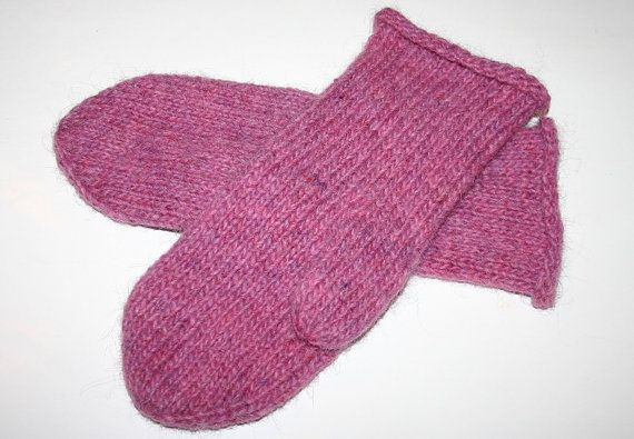 Made to order  Elegant Icelandic wool mittens  Felted by Maggadora, $35.00