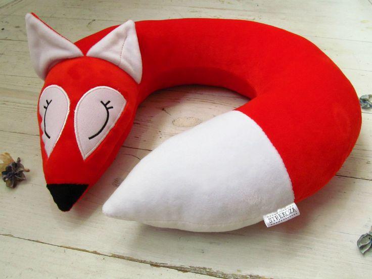 Подушка для путешествий лиса
