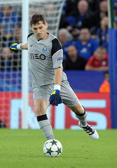 Iker Casillas,  Leicester City v FC Porto, Copyright B&O Press Photo.