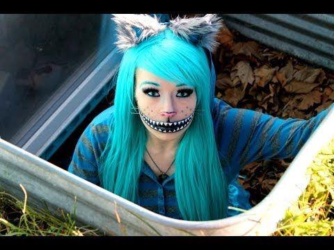 CHESHIRE CAT! (Makeup Tutorial & Costume) - YouTube