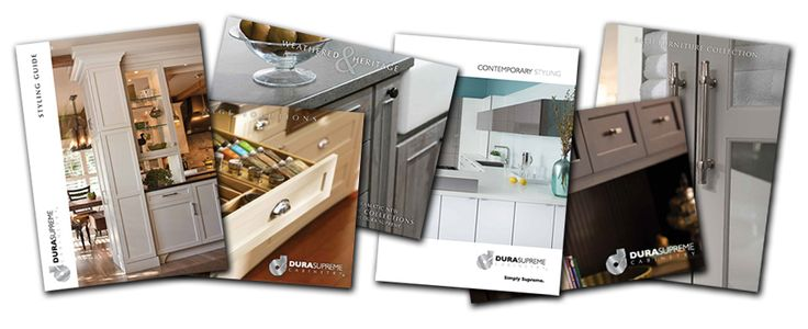 Remodeling? Find your cabinet style and color palette with Dura Supreme Cabinetry's brochure collection. Request your FREE Brochure Packet today at: www.durasupreme.com/brochure  #cabinet #cabinetry #cabinets #kitchencabinets #kitchencabinetry #kitchenremodel #remodel #bathroomcabinetry #vanities #color #style #interiordesign