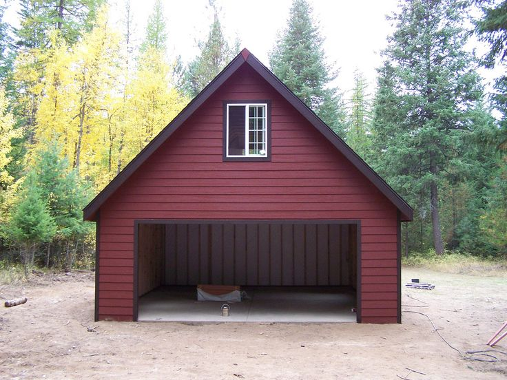 Premier Pro Ranch Garage Shed, Shed construction, Rustic