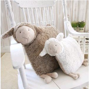 My lambie pillows are not as cool as these lambie pillows.