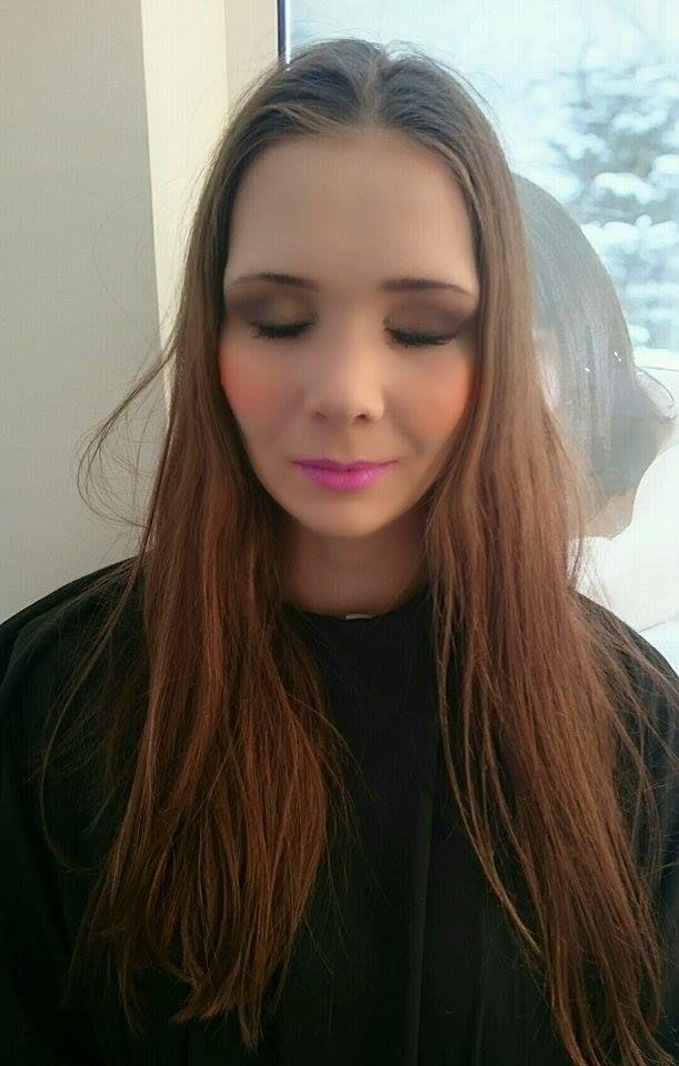 Makijaż wieczorowy. #makijaż #makeup