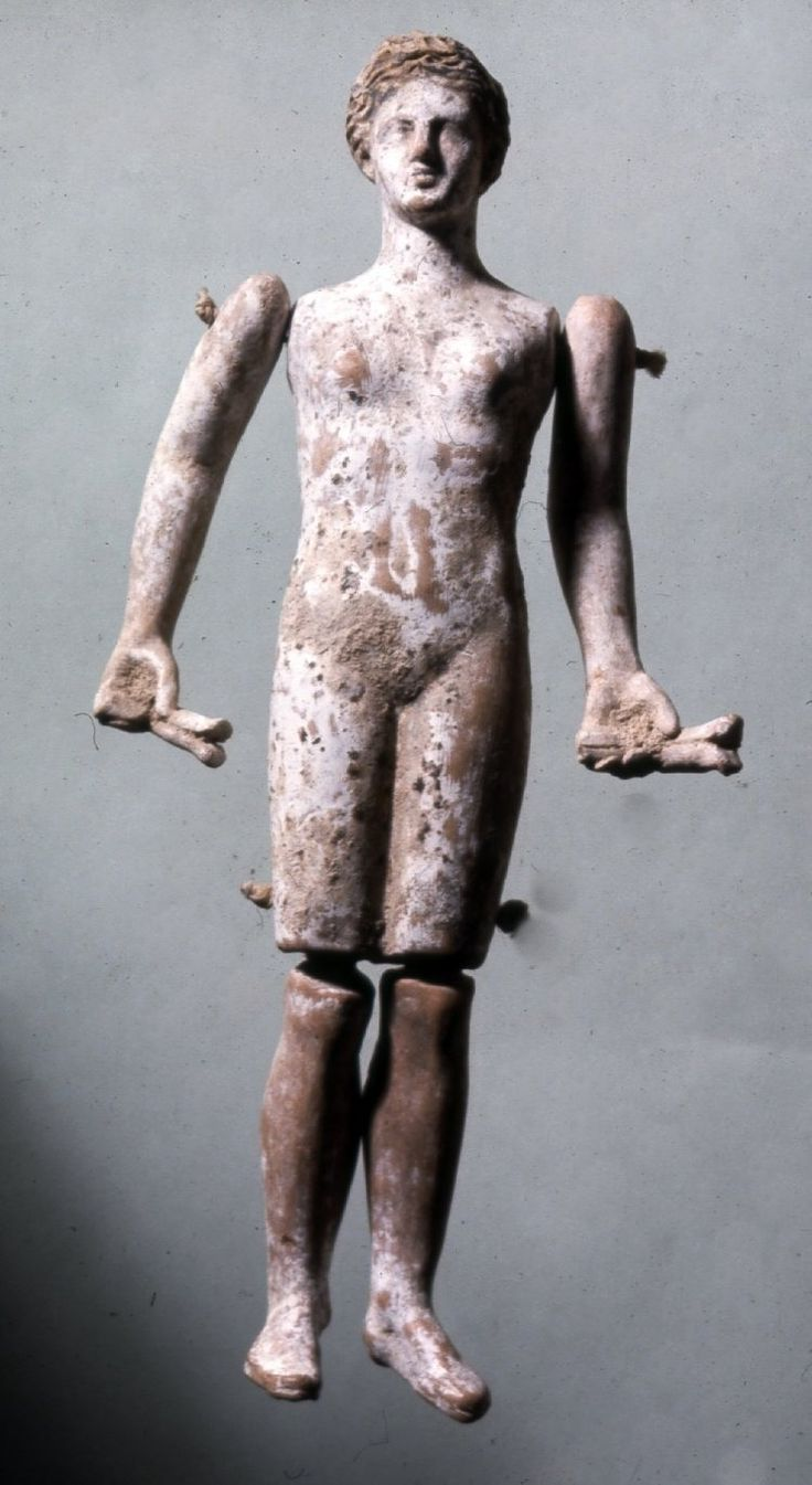 jointed Roman doll