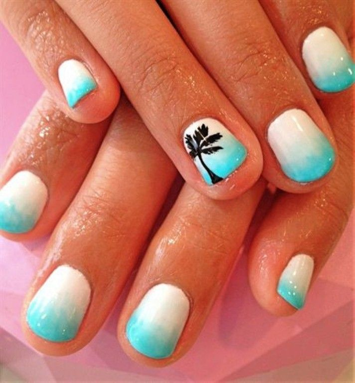 Tropical Nail Designs 5