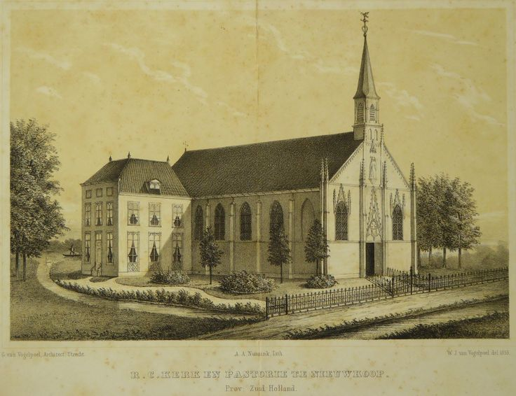Rooms katholieke kerk anno 1889