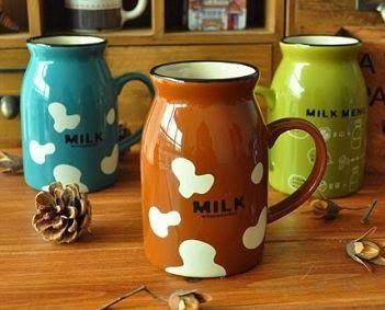 Milk Glossy Mug