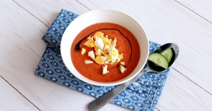 Andalúz gazpacho recept