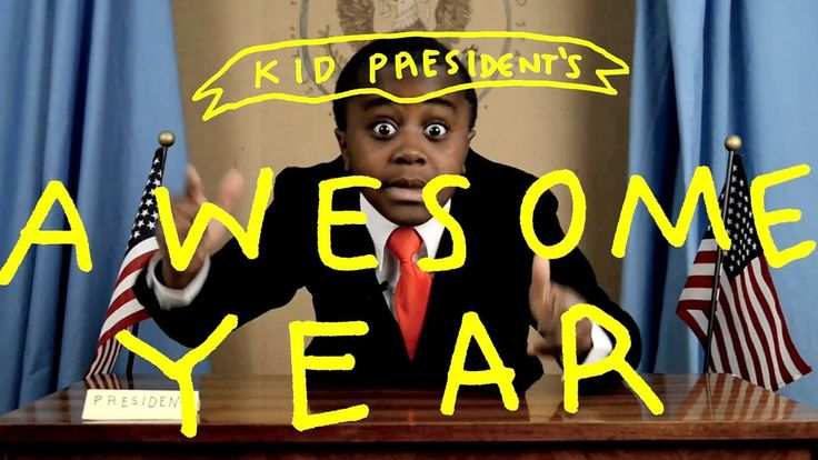 "Kid President AWESOME YEAR Challenge!--To inspire our ""new school year"" resolutions: ways to make someone's year awesome"