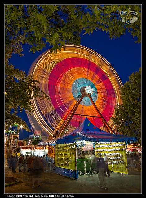 Ferris Wheel. Lane County Fair, Eugene, Oregon, USA