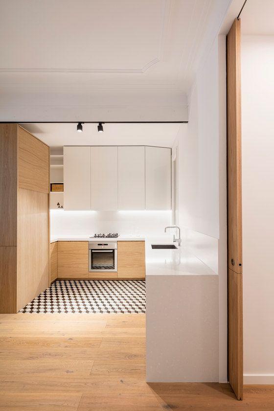 RENOVACIÓN DEL APARTAMENTO DE ALAN EN BARCELONA de EO arquitectura | Espacios habitables
