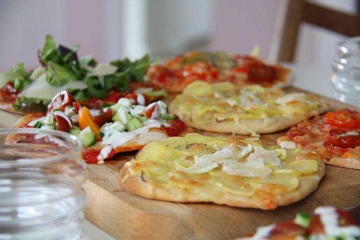Opskrift på pizza