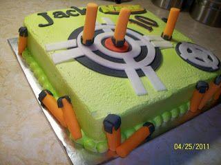 Sandy's Sweet Cakes: Nerf Cake
