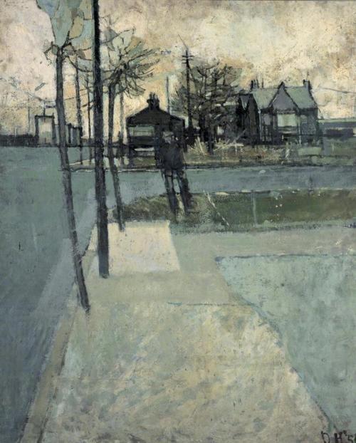 David Hockney, Bolton Junction, Eccleshill, 1956