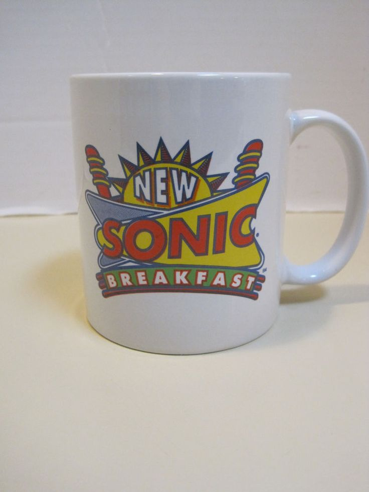 Coffee Mug New Sonic Breakfast Sonic Drive In Items For