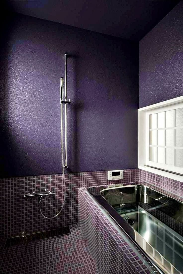 Purple Bathroom Decorating Ideas  -  A rich purple bathroom colors can transform any dull bathroom into a royal retreat. While purple may not be the most common choice for a bathroom, it�... Check more at http://www.xtend-studio.com/15582-purple-bathroom-decorating-ideas/