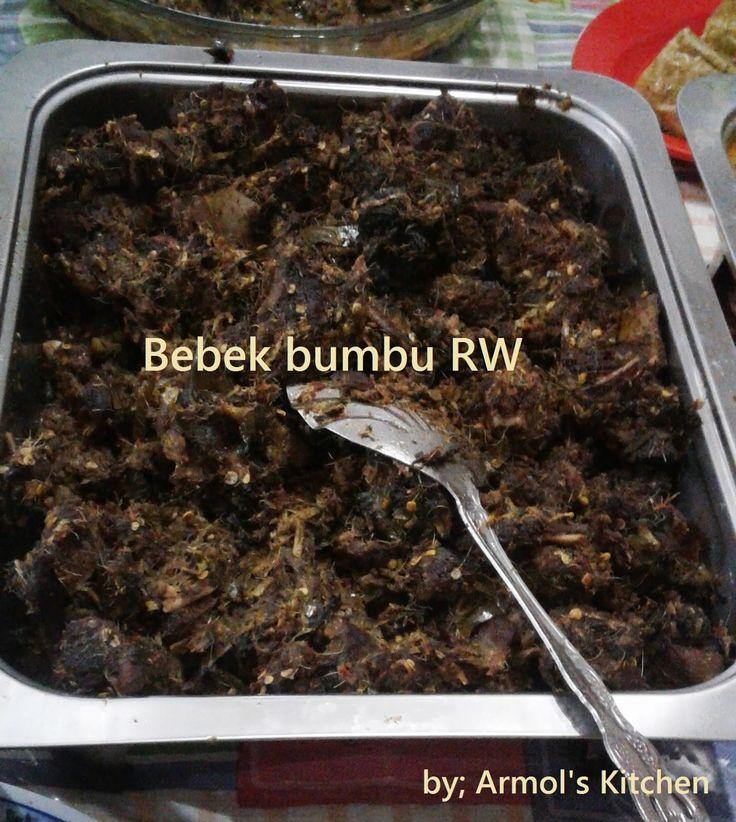 Resep Bebek Bumbu RW Manado